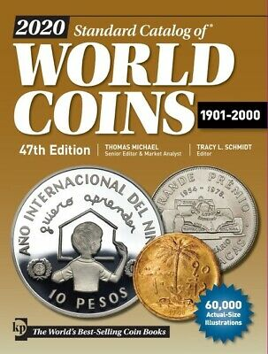 2020 Standard Catalog of World Coins, 1901-2000 47th Edition Free US S&H