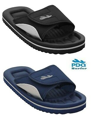 Mens Slip On Beach Bathroom pool Shower Mules Flip Flops Eva sandals shoes 6-11