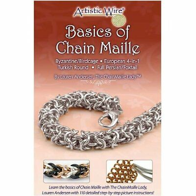 BASICS OF CHAIN MAILLE/Mail-Jump Ring-Jewelry Wire Craft Pamplet/Leaflet/Book