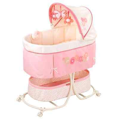 Bassinet Baby Sleep Girls Canopy Newborn Bed Furniture Infant Soothe Portable