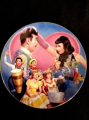 I Love Lucy Collector Plate TENNESSEE ERNIE VISITS Cert Of Auth Inc