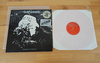 CARCASS - Symphonies Of Sickness UK PRESS 1991 Splattered Pink Vinyl