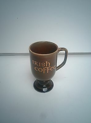 Vintage Wade Porcelain Footed Irish Coffee Mugs / Cups made in Ireland