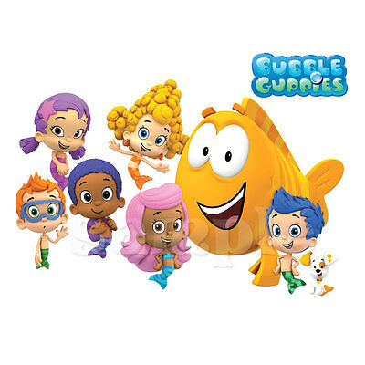 Bubble Guppies Iron On Transfer