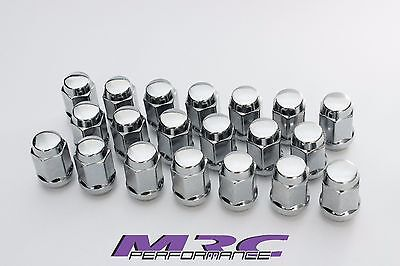 MRC 20 x Chrome Bulge Wheel Nuts Steel 7/16 early Holden FB-HT,HG,HQ,WB Torana