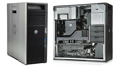 HP Z620  Workstation 2x Intel Xeon 6 Core E5-2620 RAM 24GB HDD 3TB Quadro 4000