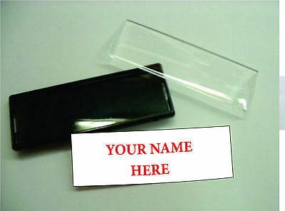* Snap Badge * Diy Name Tag * Reusable Name Badge *
