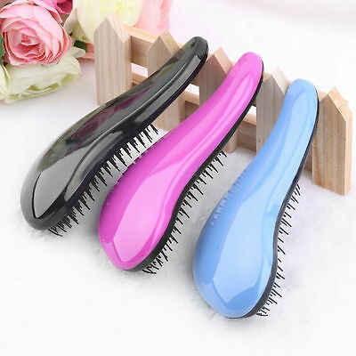 Professional Detangle Brush Paddle Beauty Healthy Styling Care Hair Comb OP