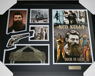 Ned Kelly Limited Edition Frame Photograph Memorabilia
