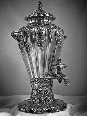 A Gorham Arts Beaux Sterling Silver  Sample Hot Water Urn: 1893 Columbian Expo
