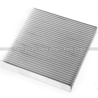 Aluminum 90x90x15mm Heat Sink for LED Power IC Transistor Mini DC Converter