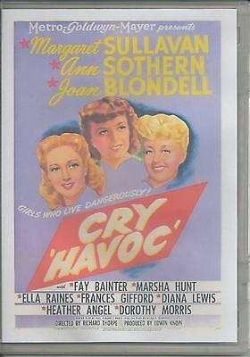 Cry Havoc - Margaret Sullavan And Many More Female Acters  All Region Dvd