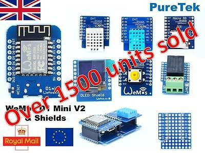 NEW  Matrix LED Shield V1.0.0 for WEMOS D1 mini HOT UK