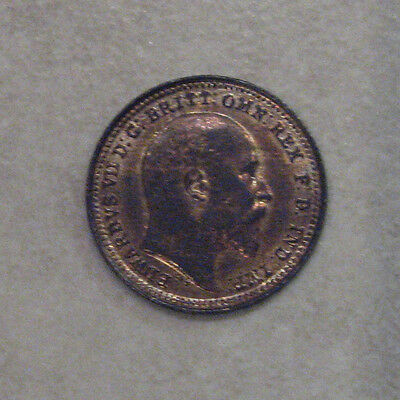 Third Farthing 1902 Coin King Edward Vii Uncirculated Wth Lustre