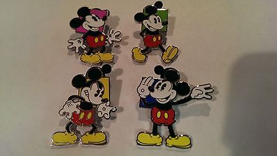 Disney Trading Pins-2010 Booster Collection-Oh Mickey!-4pc set