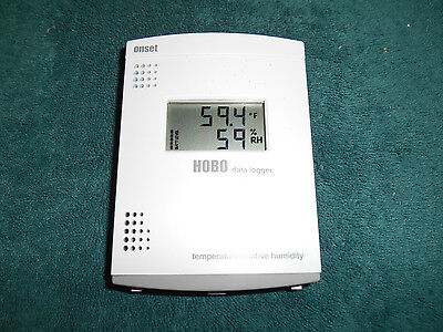 Onset H14-001, HOBO LCD Data Logger Temperature/RH    Tested