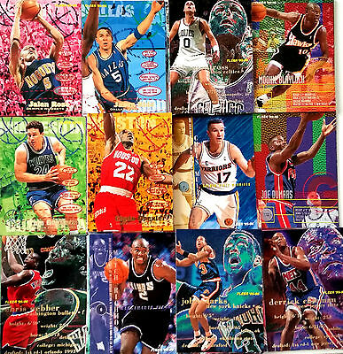 Lot 85 Cartes NBA basket cards Fleer Série I 1995 1996