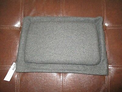 """Blu Dot """"cozy Cozy"""" For """"chair Chair"""" Padded Charcoal Grey Chair Cover Nos 2008"""