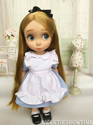 "Disney Baby doll clothes Alice dress clothing Animator's collection 16"" NO DOLL"