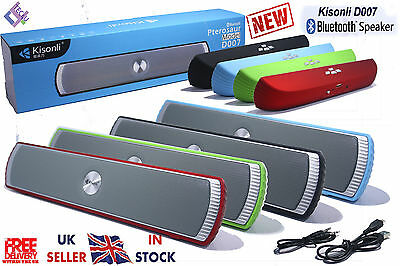 Wireless Portable Bluetooth Speaker, Stereo & Rechargeable Super Bass  NEW