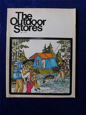 1973 The Outdoor Stores Limited Catalogue Vintage Canada Fishing Hunting Camping