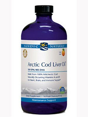 Nordic Naturals Arctic Cod Liver Oil Orange 16 fl oz