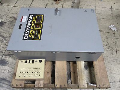 Olympian/Generac CTS System Automatic Transfer Switch 96A05436-W 100A Used
