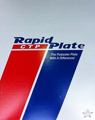 "Polyester plates / Laser Plates 12"" x 19.375"""