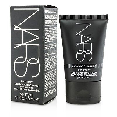 NEW NARS Pro Prime Light Optimiz Primer SPF15/PA+++ 30ml Womens Makeup