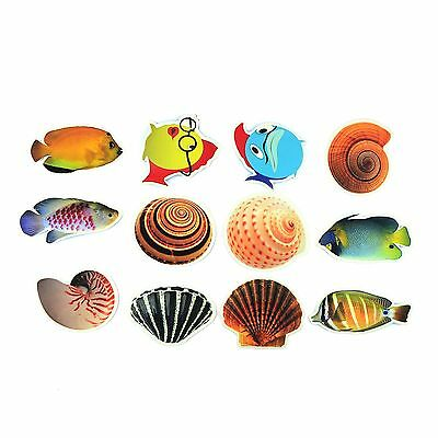 Fish Stickers for the Tub Bath Toy Non Slip Kids Shower Child Game Anti Skid