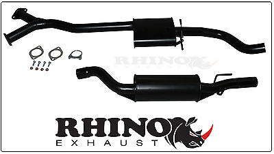 """Holden Commodore Vz Wagon & Ute 2.5"""" Cat Back System - Rhino Exhaust"""