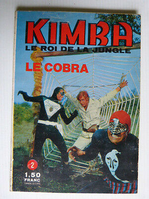 Kimba le roi de la jungle n° 2  de 1970