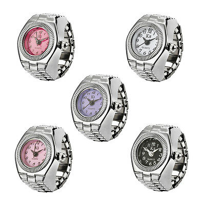 Fashion Trends Lady Individuality Delicate Quartz Ring Watch Gift Multi-Colored
