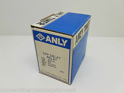 ANLY ATF-N 240V Off Delay timer