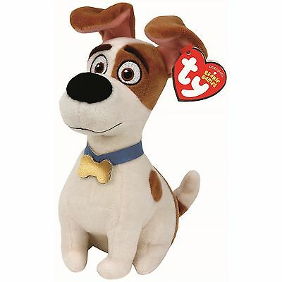 Ty Beanie Babies 41165 Secret Life of Pets Max the Jack Russell Dog