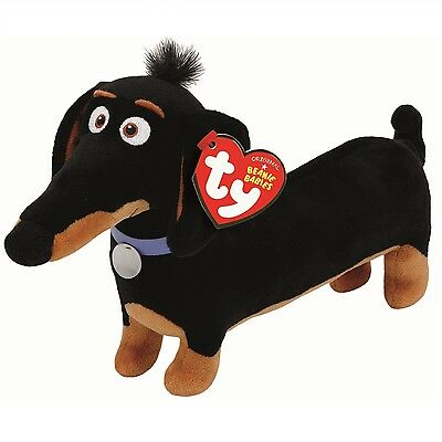 Ty Beanie Babies 41170 Secret Life of Pets Buddy the Dachund Dog