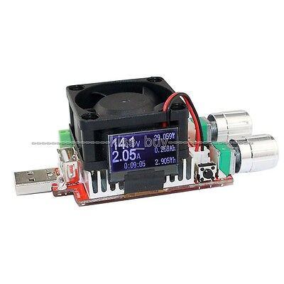35w 4A usb electronic load adjustable constant current battery capacity tester
