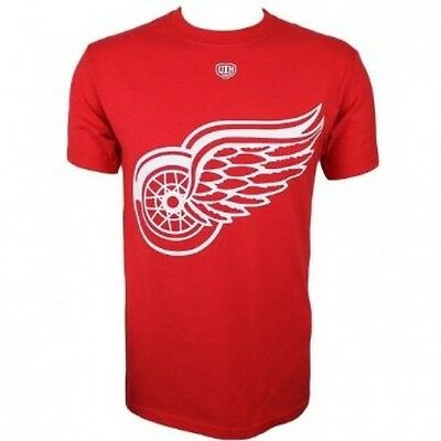 NHL Detroit Red Wings Biggee Tee (Old Time Hockey)