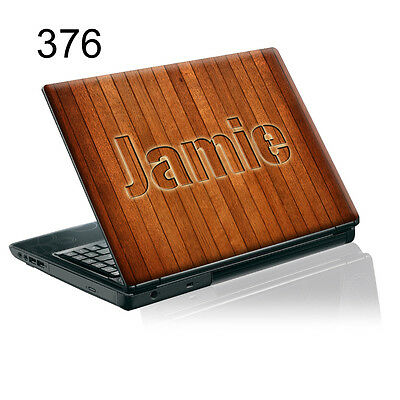 TaylorHe Personalized Laptop Decal Vinyl Skin Sticker With YOUR NAME P376
