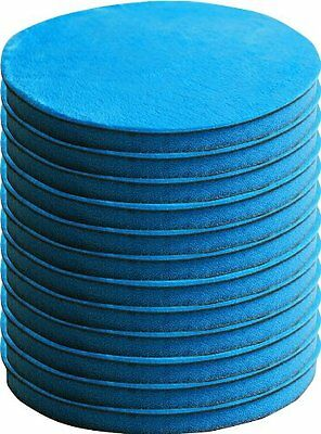 "Nanoskin (MB-FPD5-12) Microbuff 5"" Finishing Pad, (Pack of 12), New, Free Shippi"