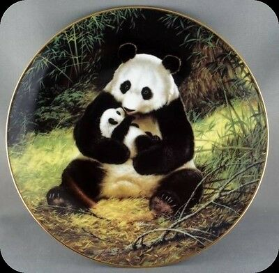Will Nelson Panda Endangered Specie Collector Plate