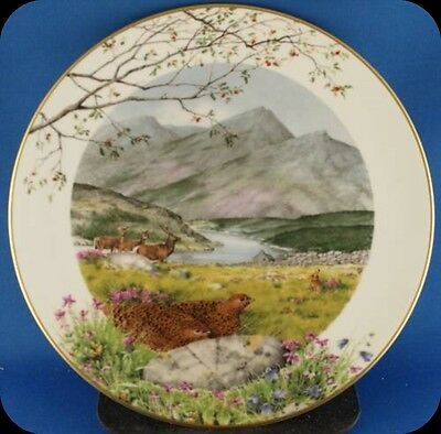 Peter Barrett Royal Worcester September On The Moors Collector Plate