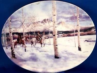 Mark Silversmith Mid-Winter Passage Collector Plate