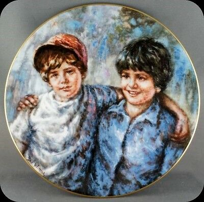 Lisette DeWinne Buddies Royal Doulton Collector Plate Limited to 10000 plates