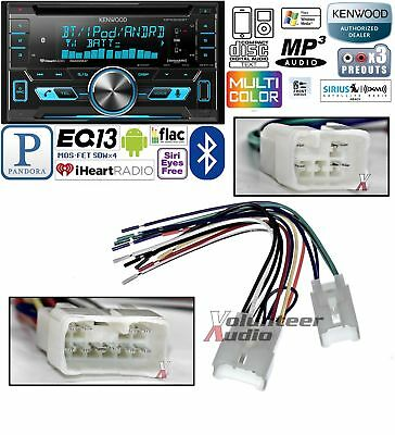 Kenwood Double Din CD Player Car Install Kit Harness Bluetooth