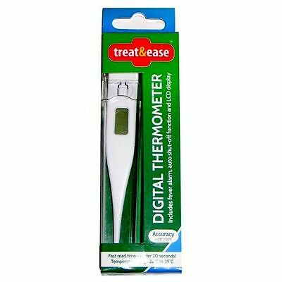 Digital LCD Thermometer Medical Adult Body Baby Safe Ear Temperature