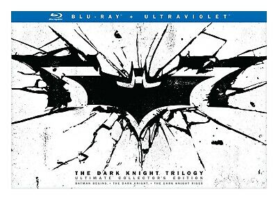 New, Sealed; Batman The Dark Knight Trilogy Ultimate Collector's Edition Blu-ray
