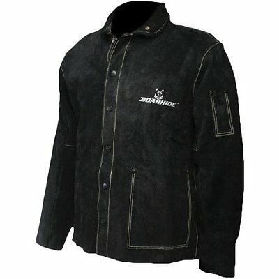 "Caiman Black Boarhide - 30""Jacket, Welding-Apparel X-Large, New, Free Shipping"