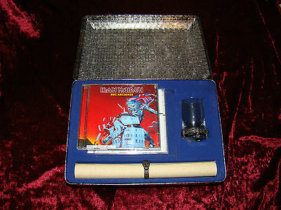IRON MAIDEN EDDIE'S ARCHIVE Limited Edition 6 CD Metal Box RARE