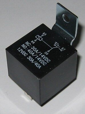 Heavy Duty 12V Automotive Relay - 30A / 40A - Normally Open / Normally Closed